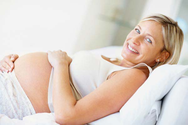 беременная мама