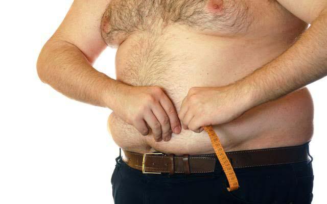 как убрать жир с желудка живота